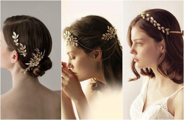 accessoire de cheveux pour mariée